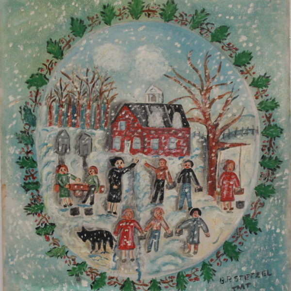 401 – Christmas break begins at school – 19oz – 18w x20h 300