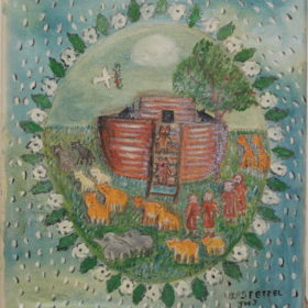 472 – Noahs ark – 18oz – 18w x20h 300
