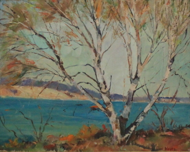 EN9 – Near Alpena MI – 1956 – 20w x 16h – signed