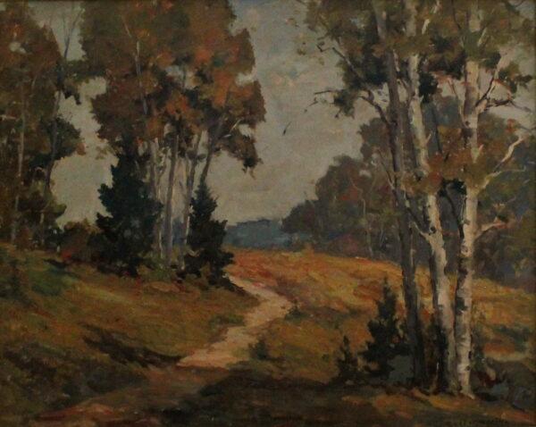 EN13_E_North_Mich_Birches_w_Path