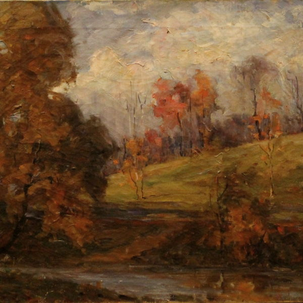 EN23_E_North_Asmus woods near Haskins_1940_ 18w x 15h – not signed