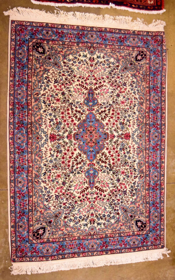 Genuine Hand Woven Oriental Rug Used