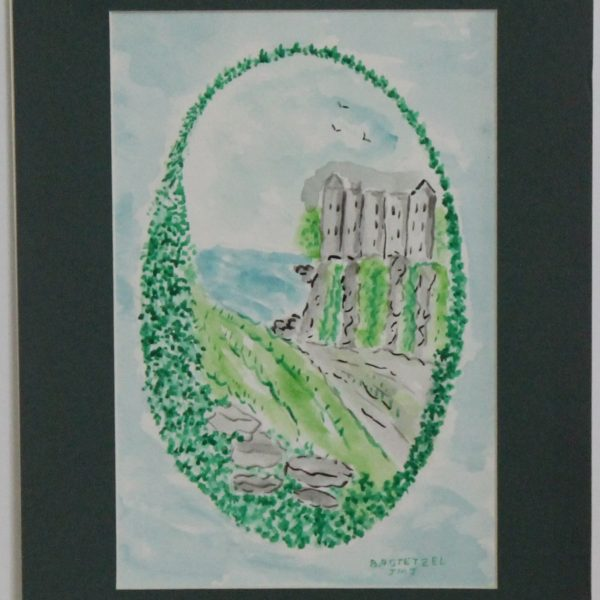 1121 – Happy St Patricks Day 3 – 5_75w x 8_75h – framed size 8_75w x11_75h – 70