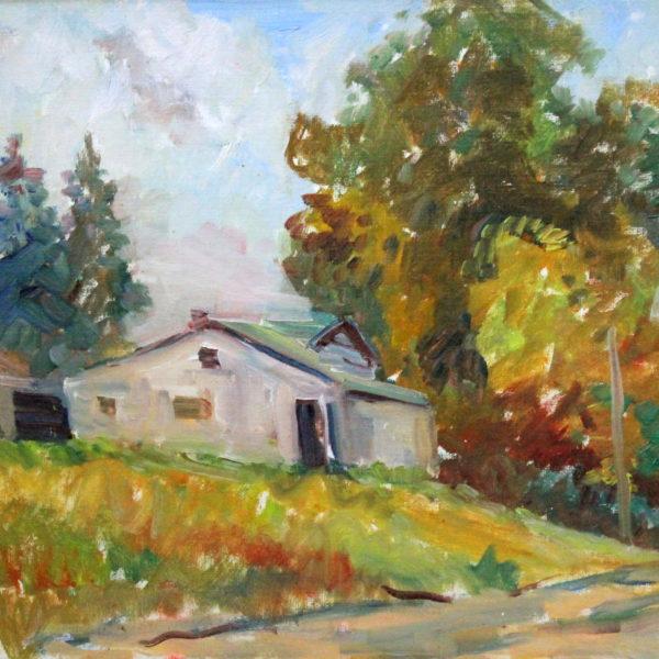 EN34_E_North_The Goodrow House – Gros Cap MI_ early 60s_12H x 16W