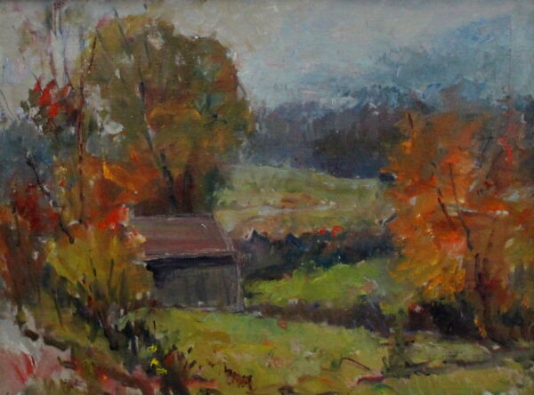 EN38_E_North_Rainy day sugar shack_12H x 16W