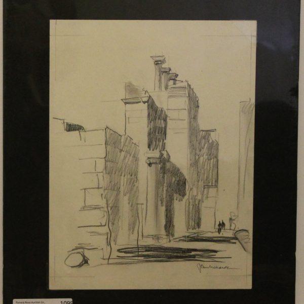 CJ17 – Columns – 4oz – Pencil – 9w x 11h 113