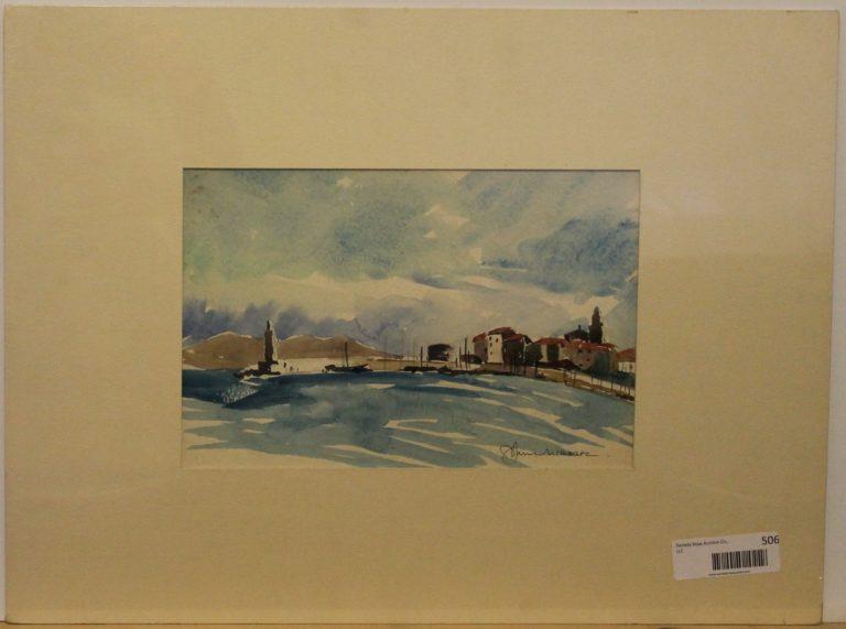 CJ3 – St Tropez -watercolor -12oz – 11w x 7h – 169