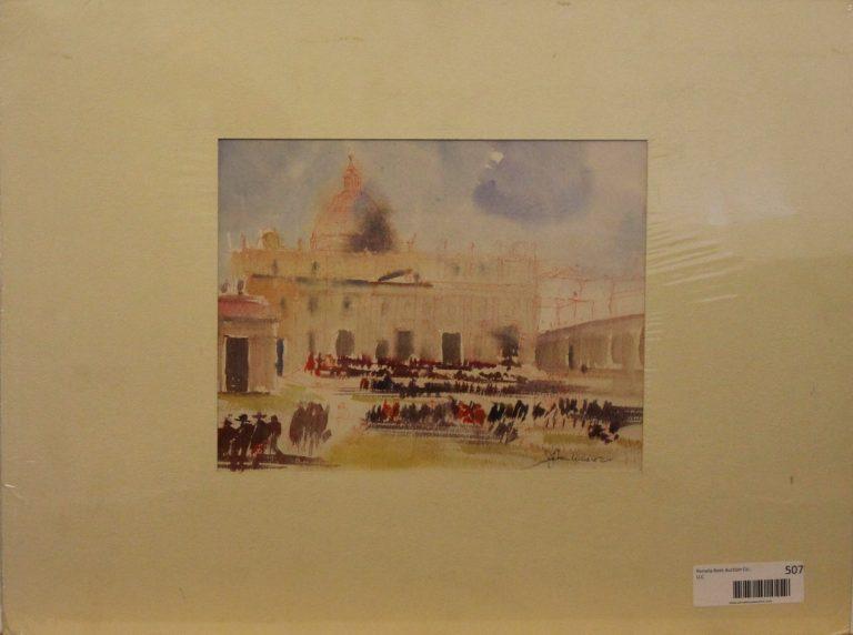CJ4 – San Pietro – watercolor – 11oz -10w x 8h 244