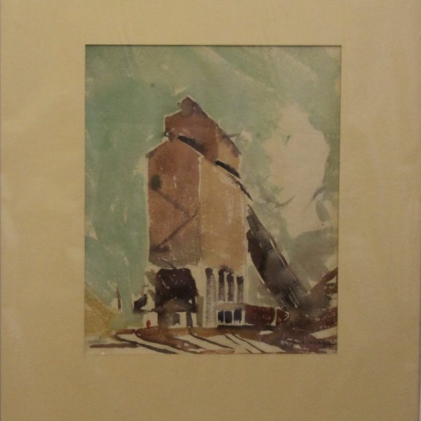 CJ5 – Elevator – Indiana – watercolor – 13oz – 9w x 10h – 225