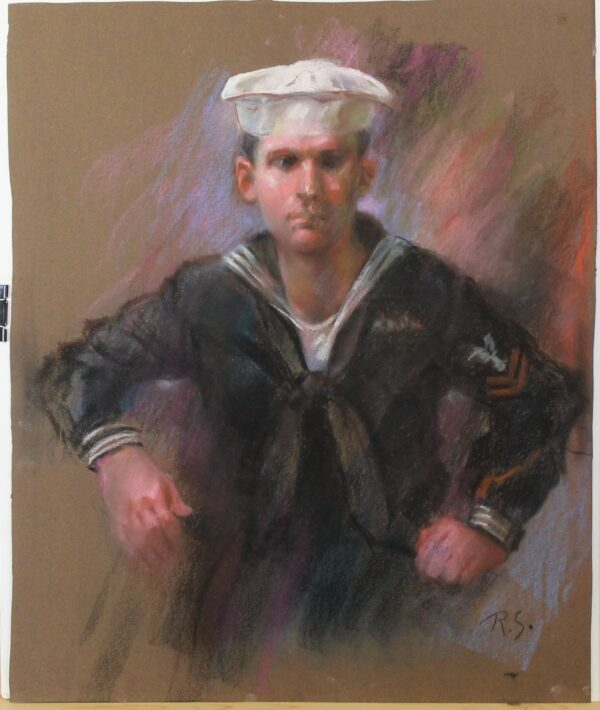 R177 – Young sailor – 20w x 24_25
