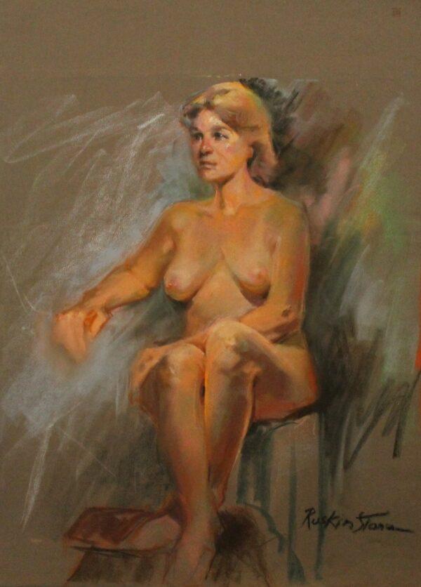 R191 Nude blonde
