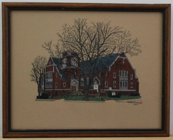 First United Methodist Church Perrysburg Ohio 1820-1928 15.25w x 12h x .75 2-9lbs 100