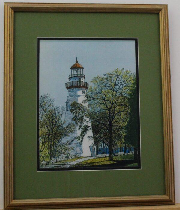Marblehead Lighthouse 17.75w x 21.75h x.75 2.2lb 125
