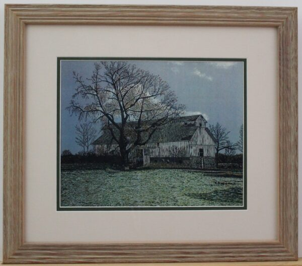 Ohio Barn 19.5w x 17h 2.2lb 150