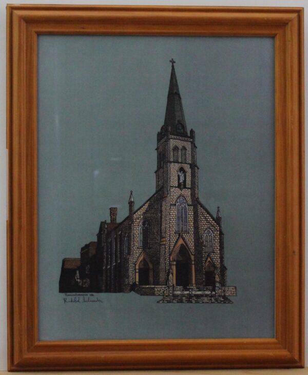 Saint Rose Catholic Church Perrysburg Ohio 13.5w x 16.5h 1.2lb 100